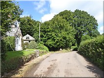 SS8712 : The road from Cruwys Morchard to the B3137 by David Smith