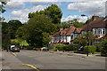 TQ2992 : Arnos Road, N11, drops towards Arnos Park by Christopher Hilton