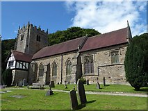SD4964 : St Wilfrid, Halton: August 2017 by Basher Eyre