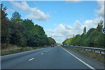 SK8934 : A1 northbound by Robin Webster