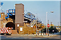TQ3681 : Limehouse station, exterior 1997 by Ben Brooksbank