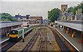 SK9770 : Lincoln Central station, westward 1992 by Ben Brooksbank