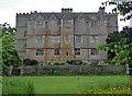 SP2429 : Chastleton House across the croquet lawn by Chris Allen