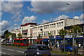 TQ3092 : Parade of shops and former cinema, Bowes Road by Christopher Hilton