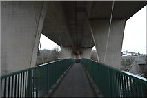 SX4857 : Footpath across A38, Manadon Flyover by N Chadwick