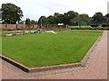 SE2435 : Bramley Park - flower garden by Stephen Craven