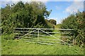 SY5692 : Access to route with public access near North Barn Farm by Becky Williamson