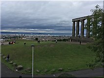 NT2674 : National Monument of Scotland by Philip Jeffrey