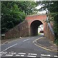 SY6777 : Former railway bridge carrying Rodwell Way over Sudan Road, Weymouth by Robin Stott