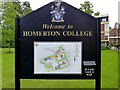 TL4656 : Homerton College - information board by Oxfordian Kissuth