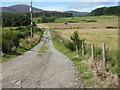 NJ4305 : Access lane to Upper Broadford Croft by Stanley Howe