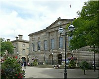 SJ9223 : Former Shire Hall, Market Square, Stafford by Alan Murray-Rust