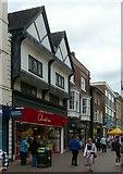SJ9223 : Old buildings on Greengate Street, Stafford by Alan Murray-Rust