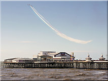 SD3036 : Airshow over North Pier by David Dixon