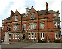 SJ9223 : Former County Technical School, Victoria Square, Stafford by Alan Murray-Rust