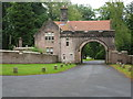 NS5427 : Upper Gate Lodge, Sorn Castle, Sorn by G Laird