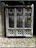 TQ1450 : Churchyard gate at Ranmore by Stefan Czapski