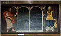 TF2569 : Commandment board painting, St Mary's church, Horncastle by Julian P Guffogg