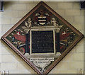 TF2569 : Memorial to Sir Ingram Hopton, Horncastle  church by Julian P Guffogg