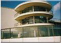 TQ7407 : Bow window on the De La Warr Pavilion by David Howard archives
