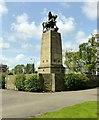 SJ9122 : Staffordshire War Memorial, Victoria Park by Alan Murray-Rust