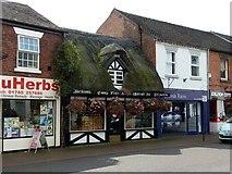 SJ9223 : Primrose Cottage, Mill Street, Stafford by Alan Murray-Rust
