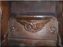 SD7336 : St Mary & All Saints, Whalley: misericord carving (xiv) by Basher Eyre