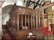 SD7336 : Inside St Mary & All Saints, Whalley (v) by Basher Eyre