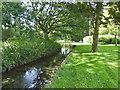 SU7956 : Brook by public footpath by Robin Webster