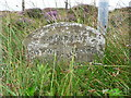 SE0506 : Boundary stone on the A635 by Humphrey Bolton