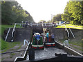 SE2536 : Parallel boating at Forge Locks by Stephen Craven