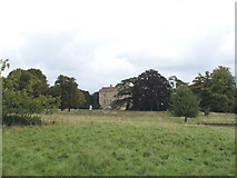 SP7103 : Thame Park house from public footpath by David Hawgood