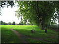 SP3278 : Spencer Park westwards by Martin Richard Phelan