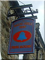 NY8837 : Sign for the Blue Bell Inn, St John's Chapel by JThomas