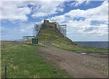 NU1341 : Lindisfarne Castle by John Allan