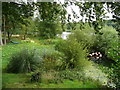 SE3144 : Flamingos in the Bird Garden, Harewood House by Humphrey Bolton