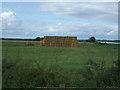 TL9688 : Farmland and bales, Larling Heath by JThomas