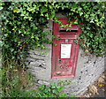 SS5146 : King George VI postbox on a suburban corner of Ilfracombe by Jaggery