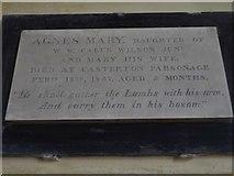 SD6279 : Holy Trinity, Casterton: Carus Wilson family memorial (i) by Basher Eyre