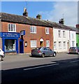 SY4692 : East Street funeral directors, Bridport by Jaggery