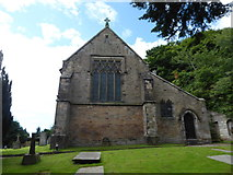 SD4964 : St Wilfrid, Halton: churchyard (6) by Basher Eyre