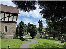 SD4964 : St Wilfrid, Halton: churchyard (10) by Basher Eyre