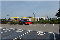 TM2431 : Morrisons Fuel Filling Station, Harwich by Geographer