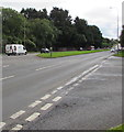 ST0581 : Dual carriageway part of the A4119, Mwyndy by Jaggery