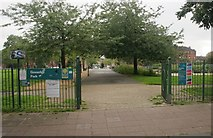 NS5862 : Entrance to Govanhill Park by Richard Sutcliffe