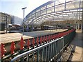 SJ8499 : Victoria Station platforms by Gerald England
