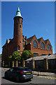 TQ2490 : Pardes House Grammar School, Finchley by Christopher Hilton