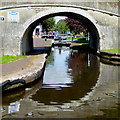 SJ9002 : The Shropshire Union Canal at Autherley Junction, Wolverhampton by Roger  Kidd