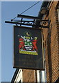 NZ2129 : Sign for the Cumberland Arms, Bishop Auckland by JThomas