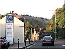 TQ4210 : Malling Street looking north north-east towards Malling Down by Patrick Roper